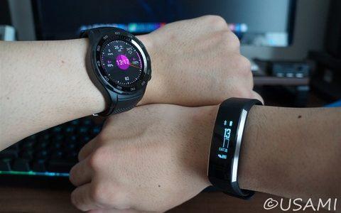 スマートウォッチ、時計型とバンド型どっちがいいの?どっちも買って使って分かった事