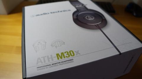 audio-technica モニターヘッドホン「ATH-M30x」