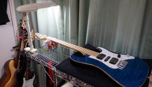 ギターのフレットをピカピカに!「ピカール」を使ったフレット磨き