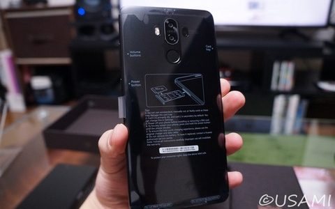 Huawei Mate 9 シャンパンブラック を買った 開封/使用レビュー